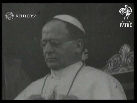 RELIGION: Signing of the Lateran Treaty (1929)