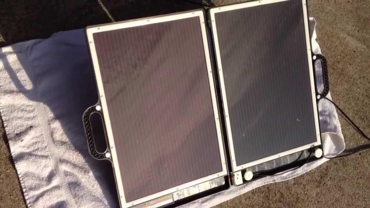 Harbor Freight Solar Panels - YouTube
