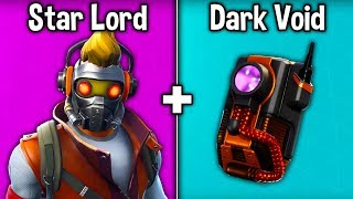 5 MEILLEURS 'STAR LORD' SKIN - BACKBLING COMBOS! (Combinaisons de peau Denite Marvel)