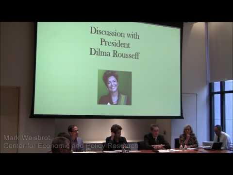 Dilma Rousseff: Democracy, Human Rights & Women in Politics in Brazil