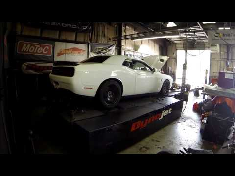 2015 Dodge Challenger Hellcat All Stock Dyno Run