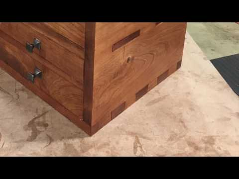 Classic Cherry Tool Chest Build - puffballdesigns.etsy.com