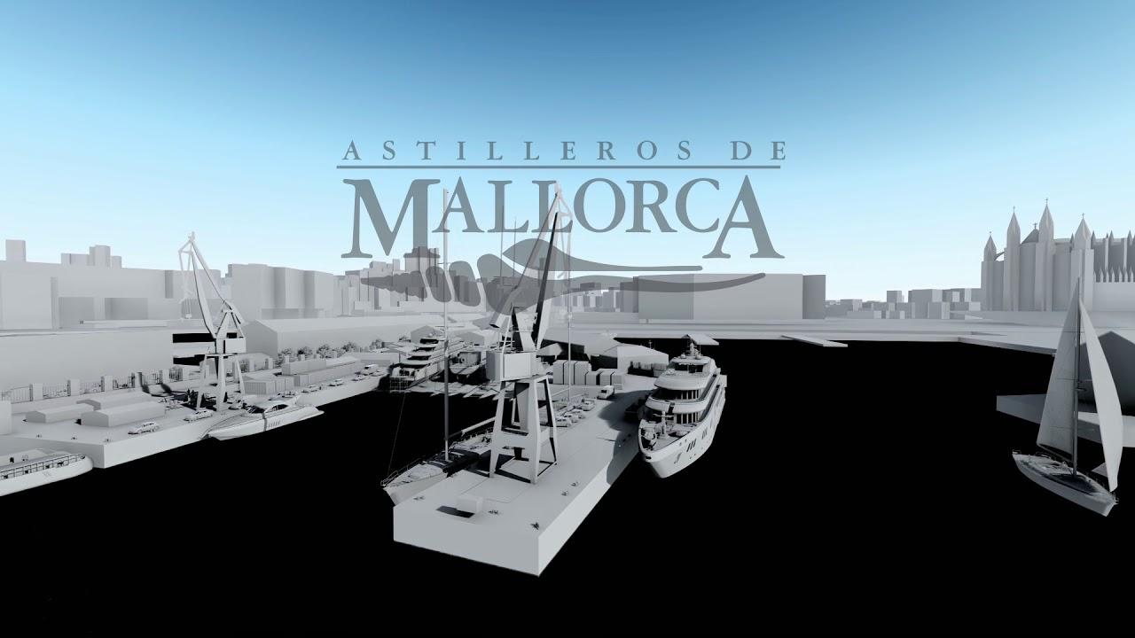Astilleros de Mallorca in 3d