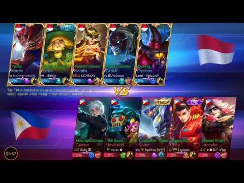 LIVE ARENA KONTES indonesia vs philippines cuma 10 menit. 😱