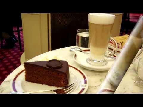 Gruß aus dem Café Sacher in Wien