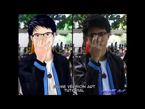 How To Make An Anime Version Of Yourself Tutorial