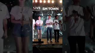 Red Velvet Wendy & EXO D.O #WenSoo #SMTownInChile