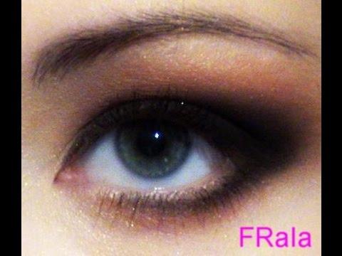 Вечерний макияж глаз Осенняя рапсодия, видео-инструкция (полная версия)