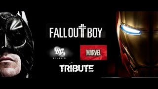 DC & MARVEL Tribute | Fall Out Boy - Centuries HD