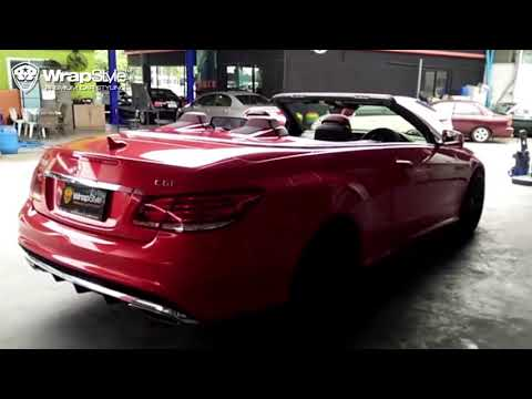[ WrapStyle™ Thailand ] - Ep.05   CYS C50 x Mercedes Benz W207 AMG   ร้านแร็ปสีรถยนต์ระดับ Premium