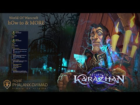 Return To Karazhan: Master Of The House-Moroes Follower