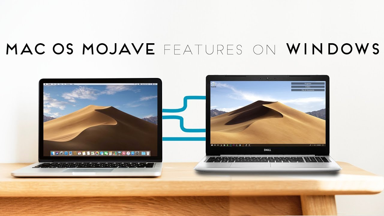 Enable The Mac OS Mojave features on Windows 10 🖥 - Most