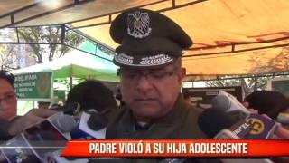 PADRE VIOLÓ A SU HIJA ADOLESCENTE