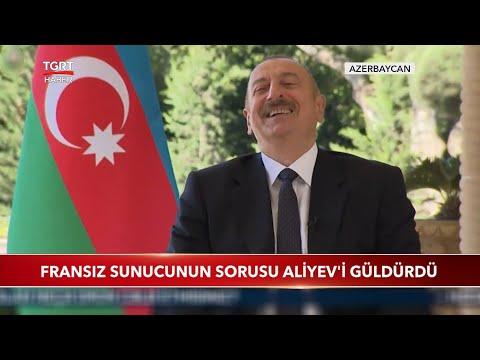 Fransız Sunucunun Drone Sorusu Aliyev'i Güldürdü