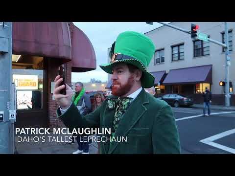 World's Shortest St. Patrick's Day Parade - Pendleton, Oregon