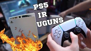 JAUNAIS PLAYSTATION 5 IR UGUNS!