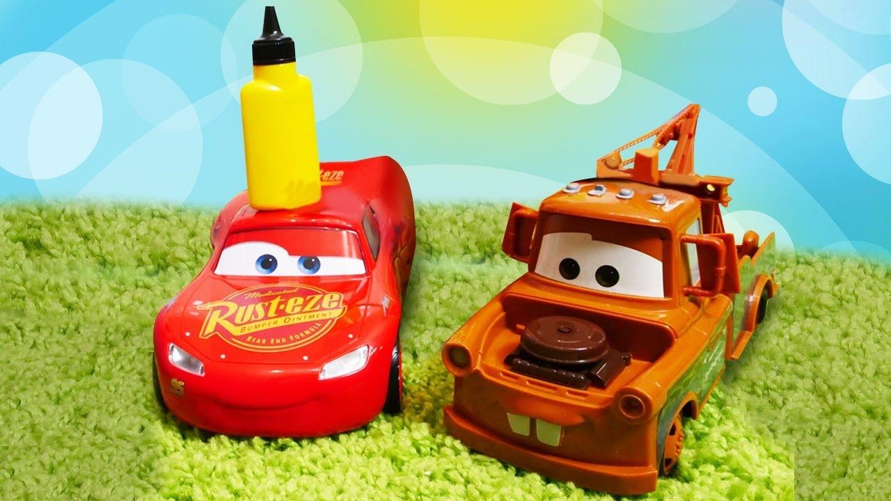 La revisión de Rayo McQueen. La vida secreta de los juguetes. Coches de juguete para niños