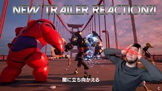 NEW Kingdom Hearts 3 Cinema Trailer Reaction!