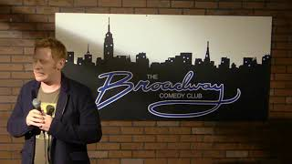 Kyle Acosta stand up Broadway Comedy Club—use headphones if no audio
