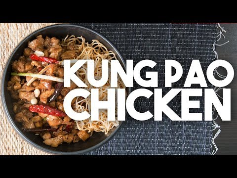 🍜 KUNG PAO Chicken | Sichuan style Chicken with Black Vinegar, Shaoxing wine | Kravings