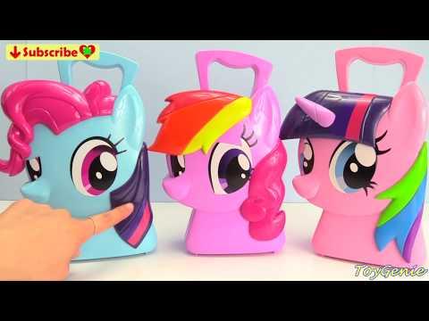 My Little Pony Twilight Sparkle, Rainbow Dash, Pinkie Pie Mix Up Mania