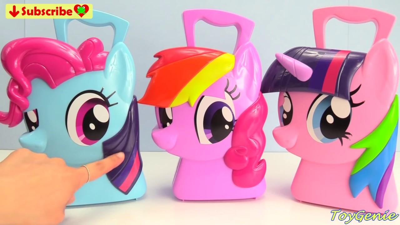 My Little Pony Bettwäsche : mix up my little pony twilight sparkle rainbow dash pinkie pie mania youtube ~ Watch28wear.com Haus und Dekorationen