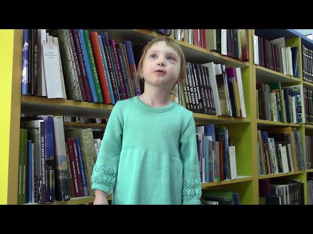 Изображение предпросмотра прочтения – ВасилинаСатюкова читает произведение «За книгами» М.И.Цветаевой