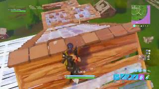 I really am the fastest console builder... (Fortnite Battle Royale)