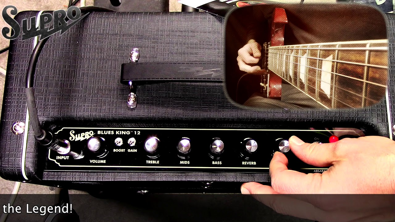 Supro Blues King Amplifier - Official Demo by Mike Hermans
