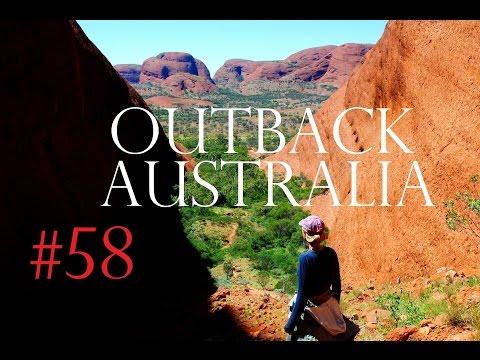 OUTBACK AUSTRALIA - AYERS ROCK, KINGS CANYON, KATA TJUTA✔Worldtravel Adventure - Travel Vlog