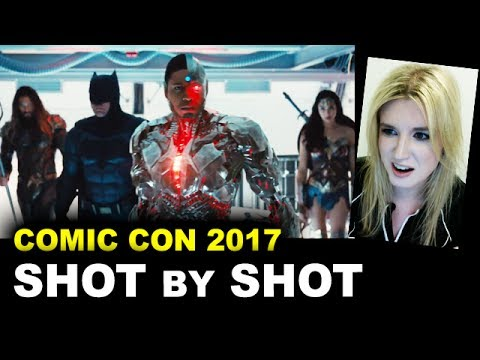Justice League Comic Con Trailer 2017 REVIEW & BREAKDOWN