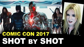 Justice League Comic Con Trailer 2017 REVIEW & BREAKDOWN