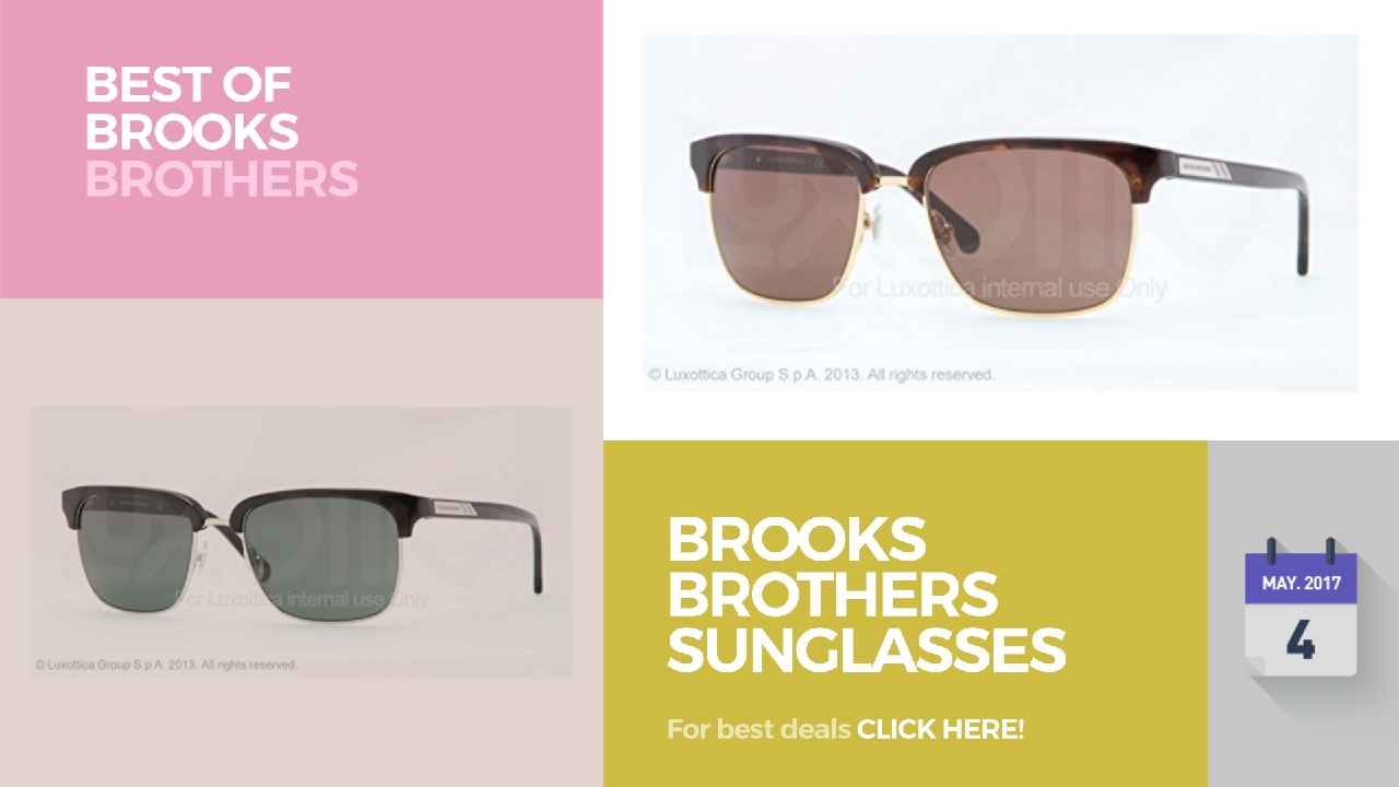 9acadc5b854 Brooks Brothers Sunglasses Best Of Brooks Brothers - YouTube