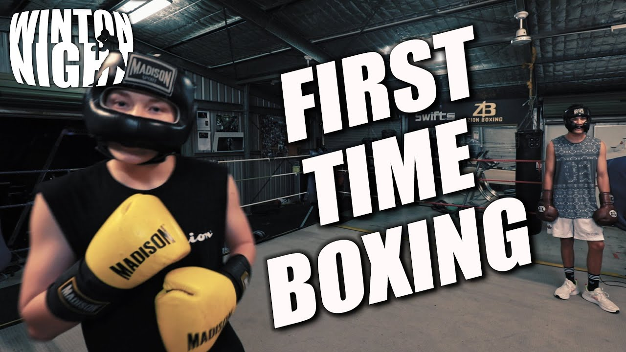 Getting PUNCHED in the face - First Time EVER sparring a BOXER