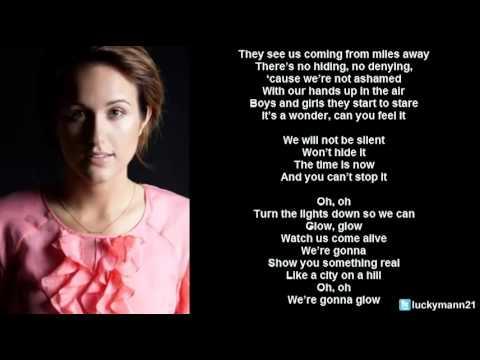 Britt Nicole - Glow (Lyric Video) Christian Pop