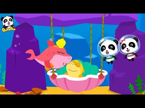Baby Shark Care | Little Panda Babysitter | Mommy Shark's Out | Baby Care Animation & Song| BabyBus