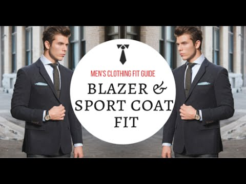 How A Blazer Should Fit - Men's Clothing Fit Guide