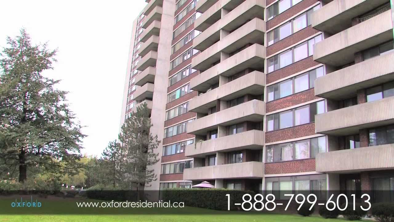 ♥ North York Toronto Apartment For Rent   Forest Lane Apartments ♥   YouTube