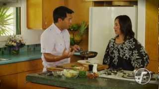 Seared Mahi Mahi With Warm Tomato Inamona Salad