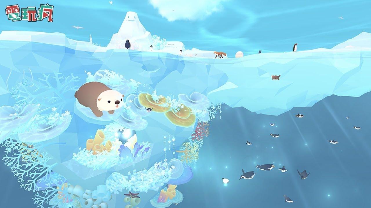 《深海水族館極地 Tap Tap Fish - Abyssrium Pole》手機遊戲 可愛的極地生物們要來療育你的心 - YouTube