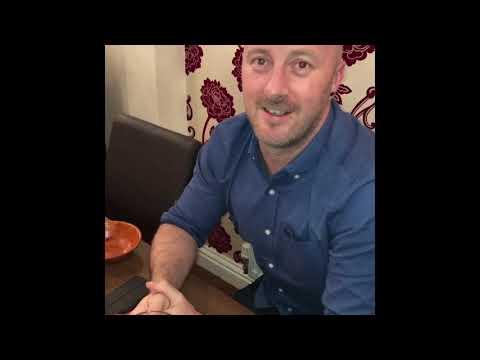 Glasgow to Stoke to taste my curry - David Wood thx you - Latifs Indian Restaurant Alsager
