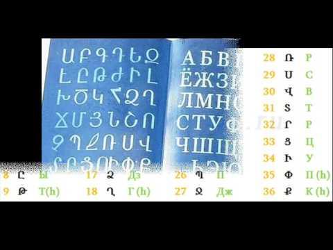 Уникальный Армянский Алфавит
