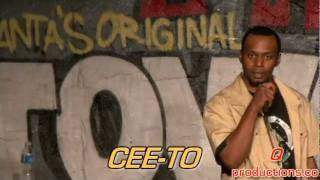 First Time Comedian CEETO at Amateur Night at Uptown Comedy Club