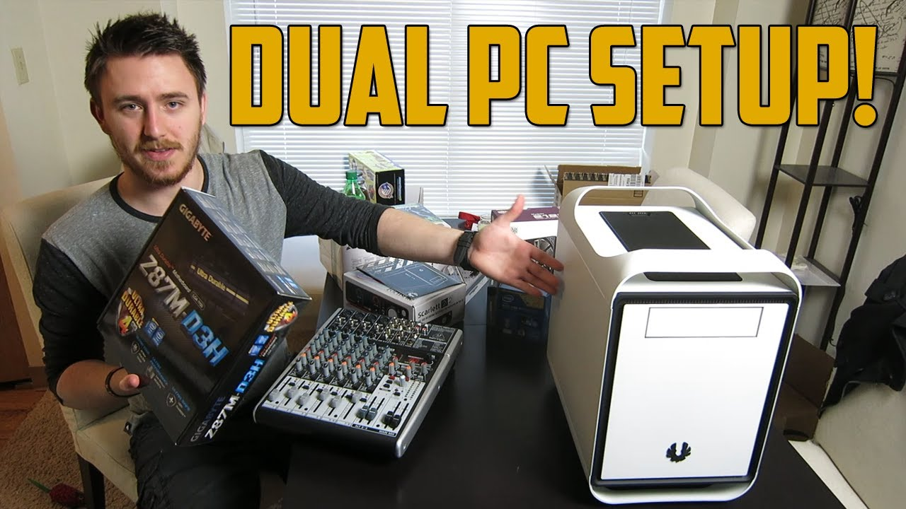 Dual Pc Streaming Setup Vlog Youtube