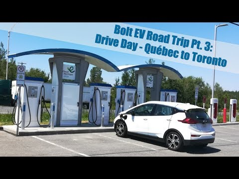 Bolt EV Canada Road Trip Pt.  3: 500+ Mile Drive Day From Québec City To Toronto