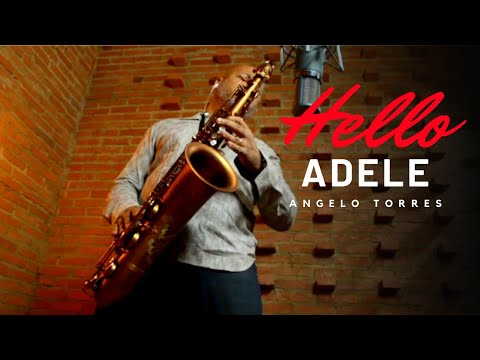 AT Romantic CLASS #3 - HELLO (Adele) Instrumental Saxofone (Angelo Torres)