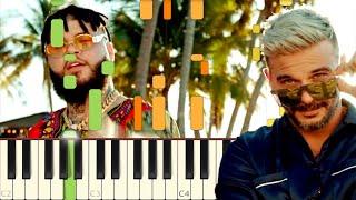 Baixar Pedro Capó, Farruko - Calma Remix - Piano - Synthesia