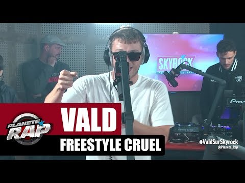 Youtube: Vald – Freestyle Cruel #RecordBattu #PlanèteRap