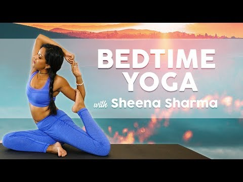 Bedtime Yoga for Relaxation & Pain Relief, Intermediate Level Clas…