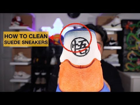 HOW TO CLEAN SUEDE SHOES OR SNEAKERS